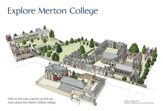 Map of Merton