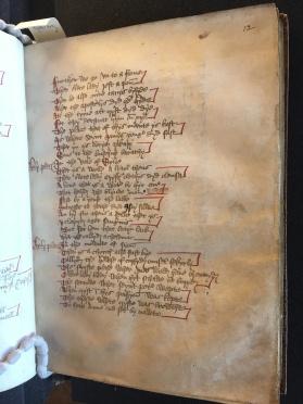Bodleian Library, MS Bodl. 565, f. 12r. Photo Mary Boyle, courtesy Bodleian Library