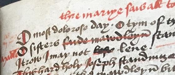 Bodleian Library, MS e Mus. 160, f. 141r. Photo Mary Boyle, courtesy Bodleian Library.