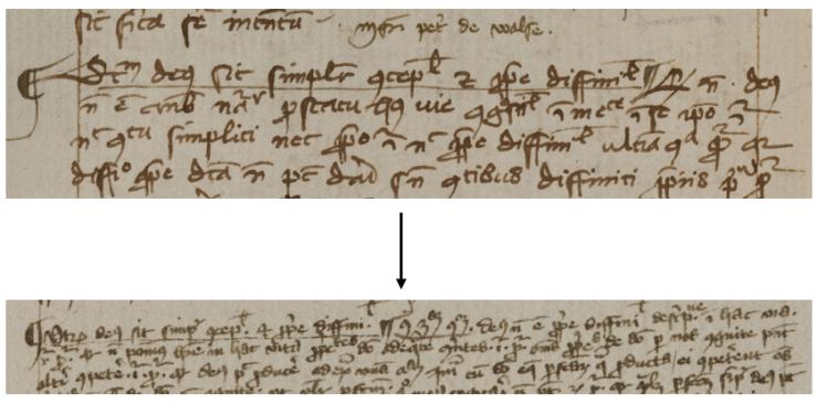 Basel, A X 44, f. 126v, f. 18r