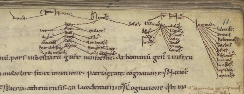 Leiden, UB, GRO 22, f. 11r