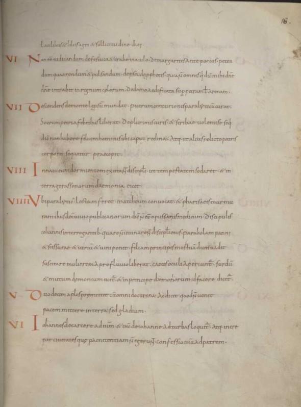 Breviarium page 4, fol. 16r