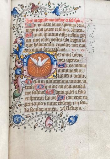 St John's College MS 187, fol. 1r